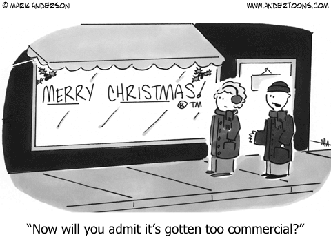 Merry Christmas trademarked: Now will you admit it's gotten too commercial?